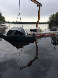 Marine Recovery ~ Eagle River Dock and Lift